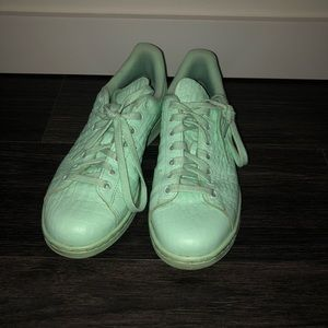 Mint adidas sneakers